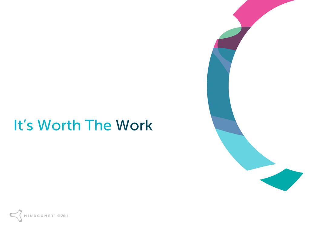 © 2011 It's Worth The Work