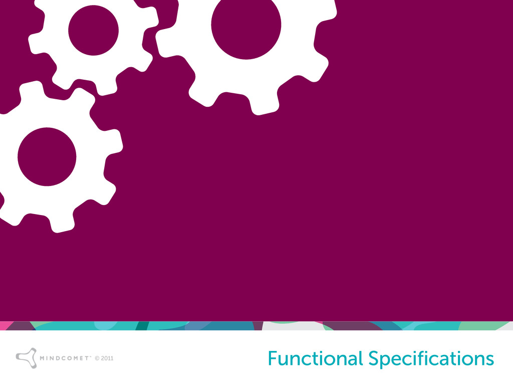 © 2011 Functional Specifications