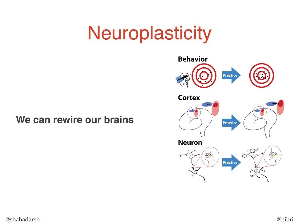 @shahadarsh @hibri Neuroplasticity We can rewir...