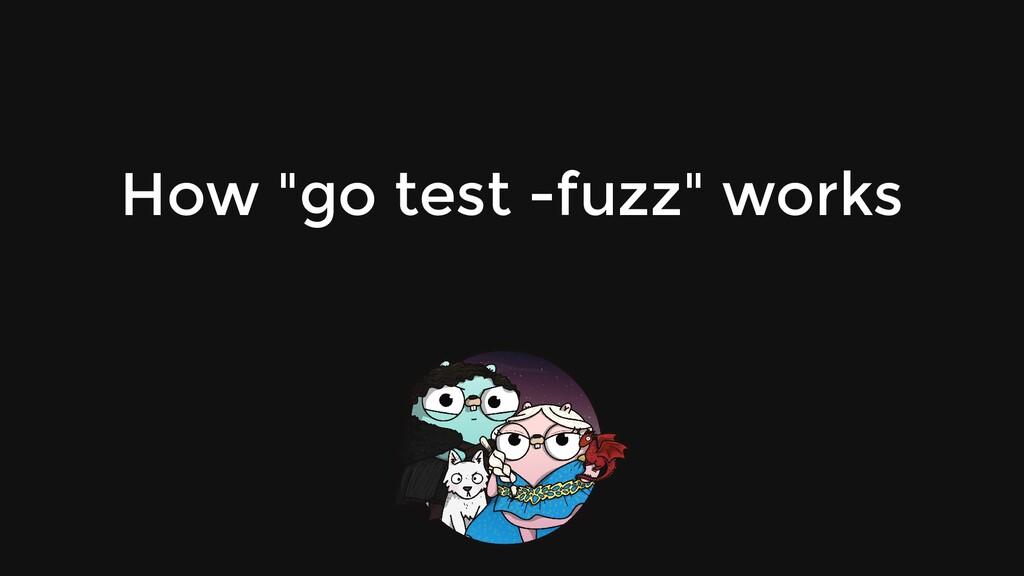 """How """"go test -fuzz"""" works"""