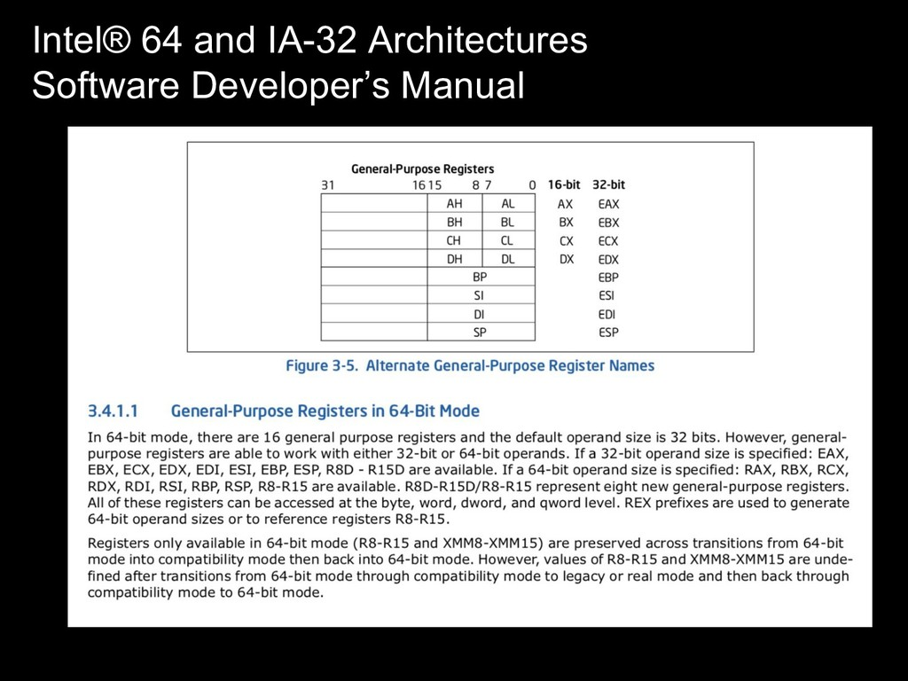Intel® 64 and IA-32 Architectures Software Deve...