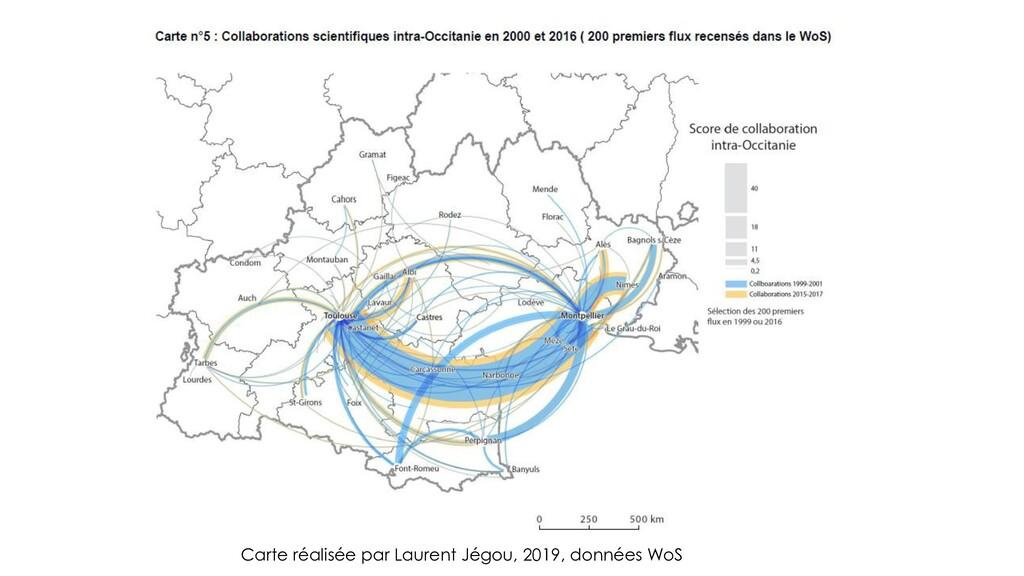 Carte réalisée par Laurent Jégou, 2019, données...
