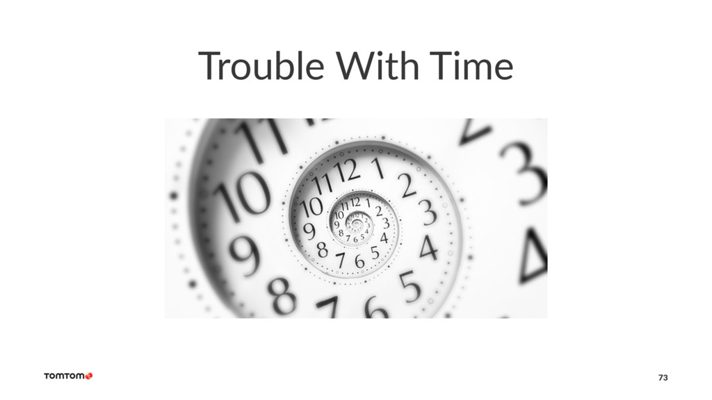 Trouble With Time 73