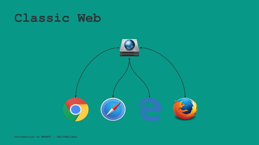 Classic Web Introduction to WebRTC - @ErikHellm...