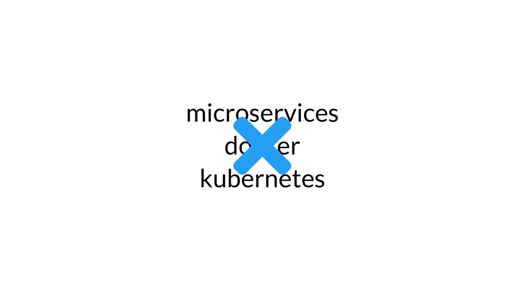 microservices docker kubernetes 