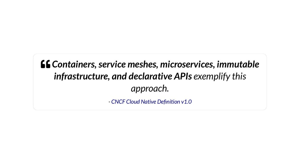  Containers, service meshes, microservices, im...