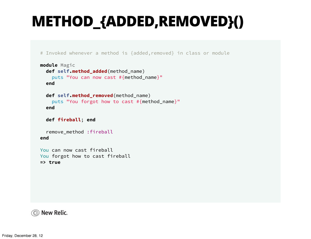 METHOD_{ADDED,REMOVED}() # Invoked whenever a m...