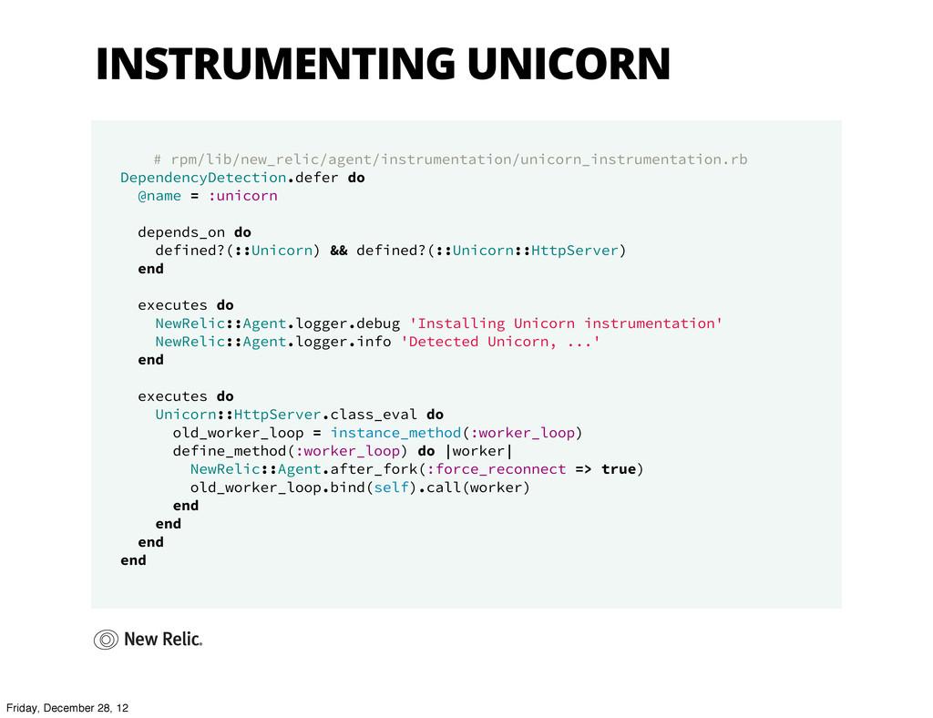 INSTRUMENTING UNICORN # rpm/lib/new_relic/agent...