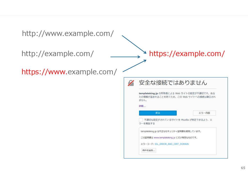 65 http://www.example.com/ https://example.com/...