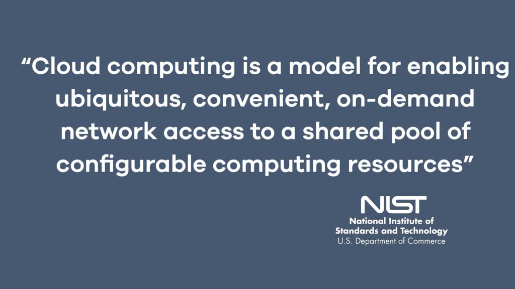 """Cloud computing is a model for enabling ubiqui..."