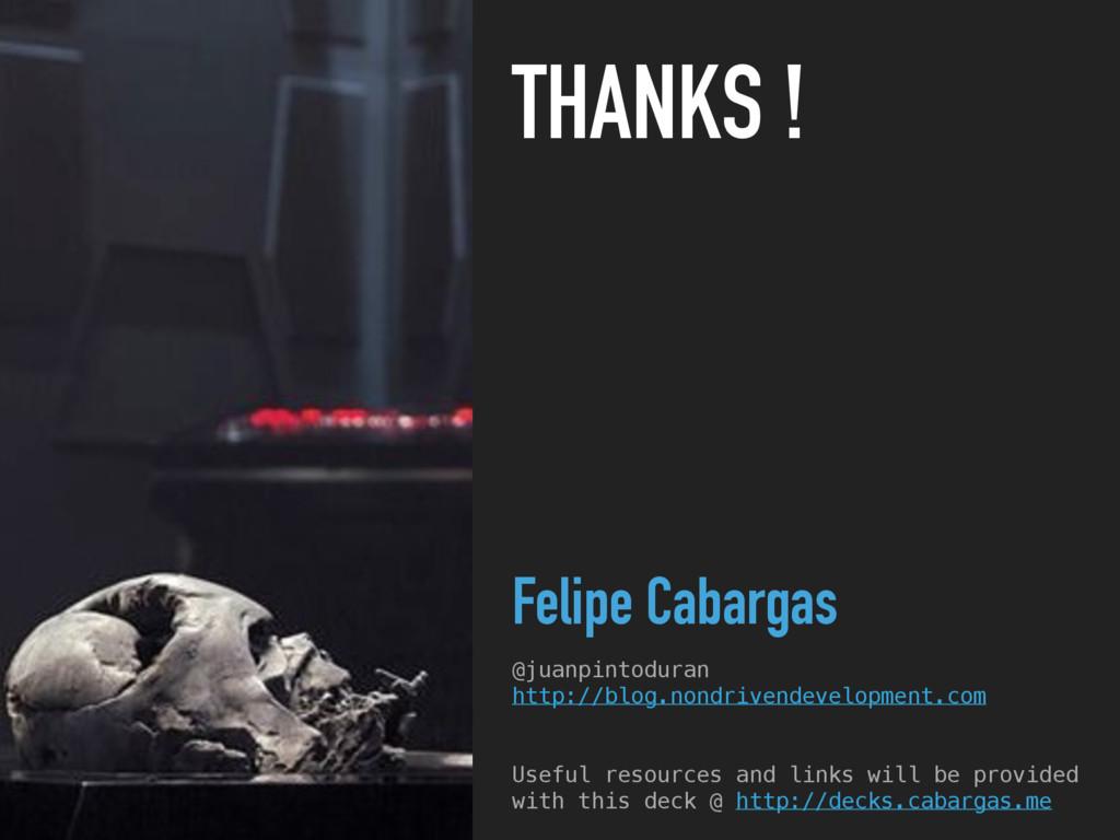 THANKS ! Felipe Cabargas @juanpintoduran http:/...