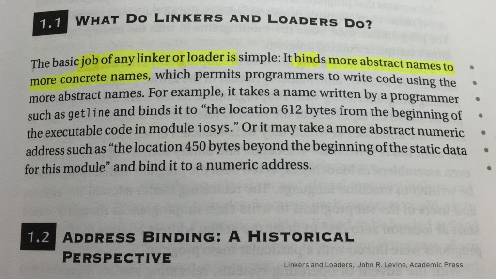 Linkers and Loaders, John R. Levine, Academic P...