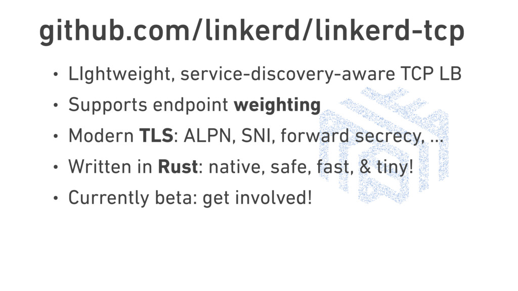 github.com/linkerd/linkerd-tcp • LIghtweight, s...