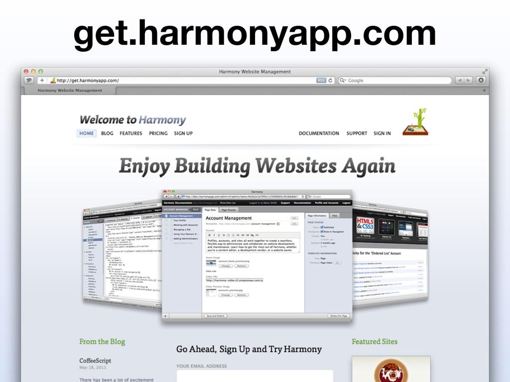 get.harmonyapp.com