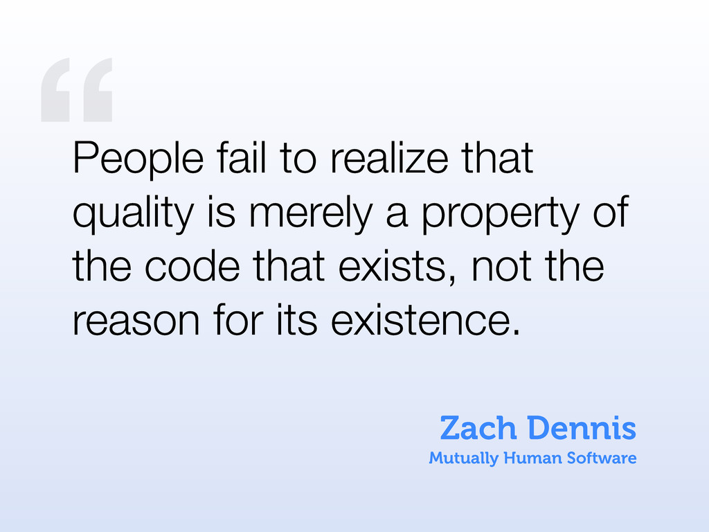 """ Zach Dennis Mutually Human Software People fa..."