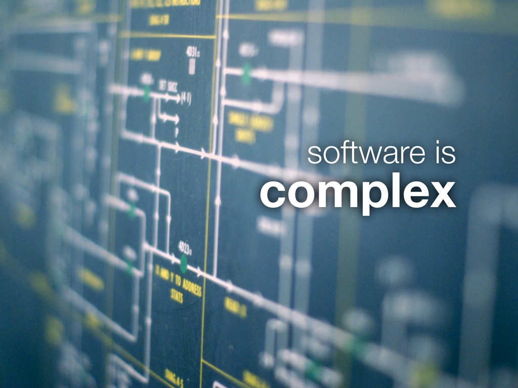 software is complex