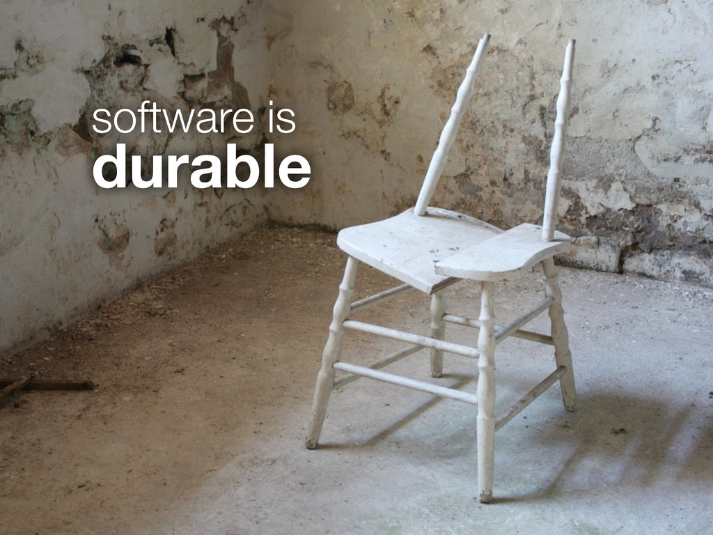 software is durable
