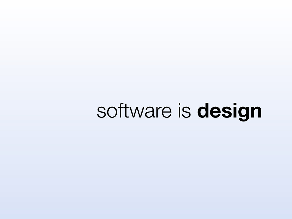 software is design