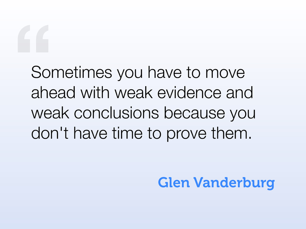 """ Glen Vanderburg Sometimes you have to move ah..."