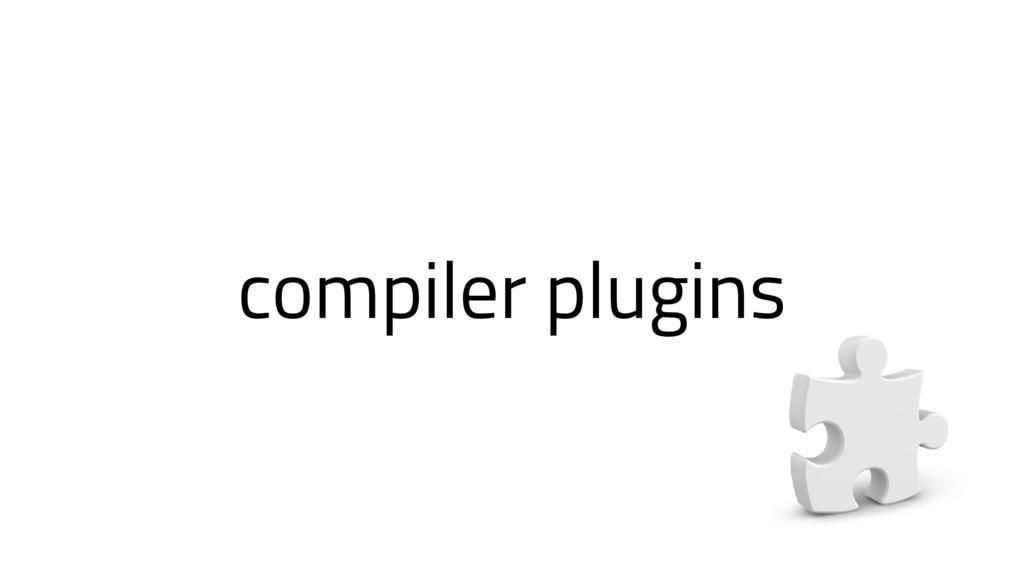 compiler plugins