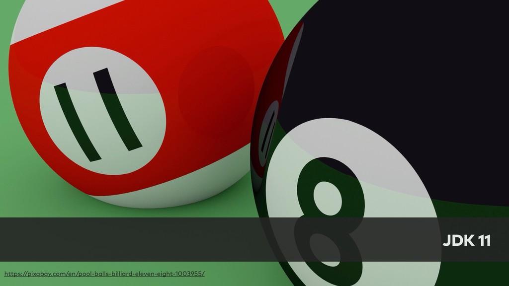 JDK 11 https://pixabay.com/en/pool-balls-billia...