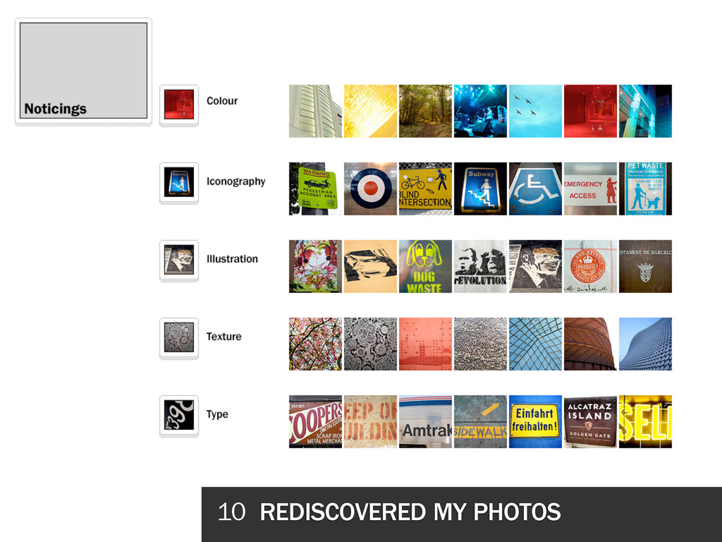 10 REDISCOVERED MY PHOTOS