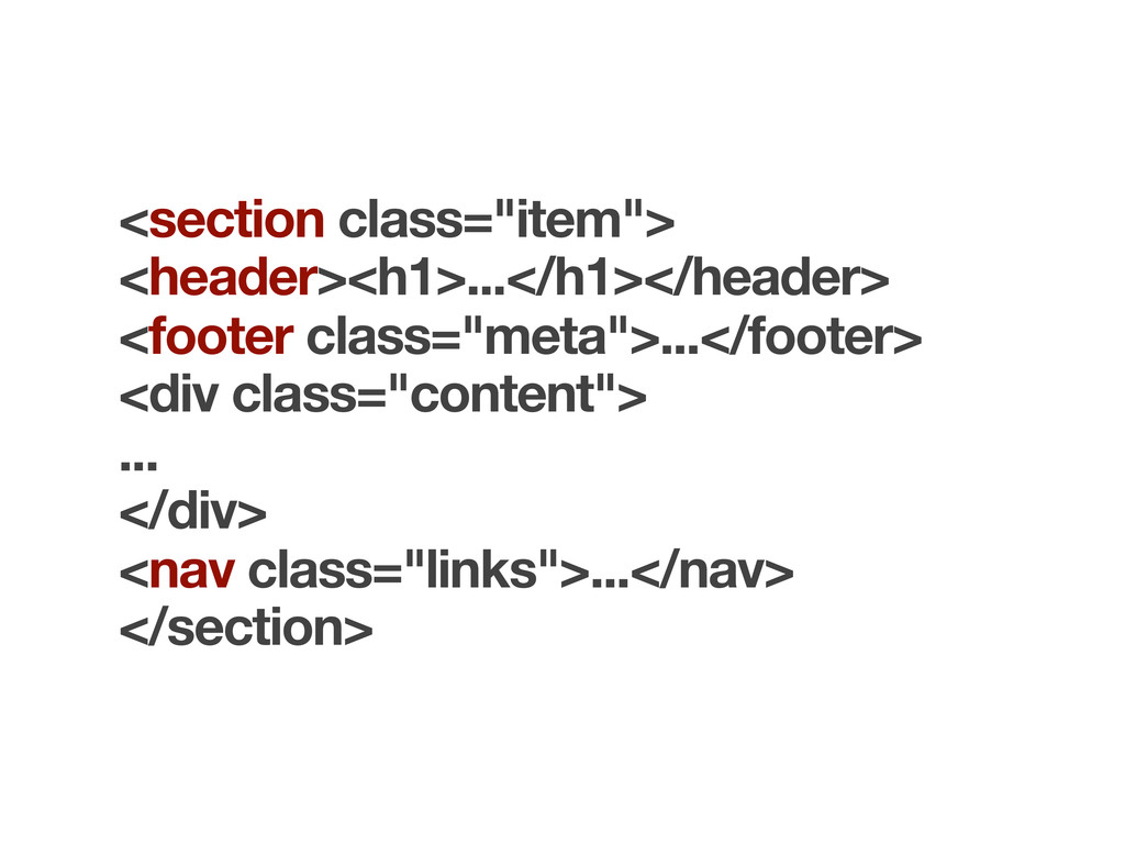 "<section class=""item""> <header><h1>...</h1></he..."