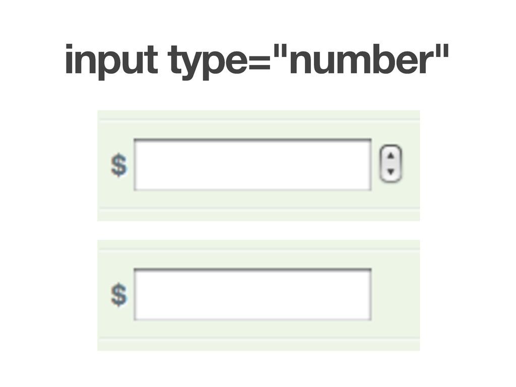 "input type=""number"""