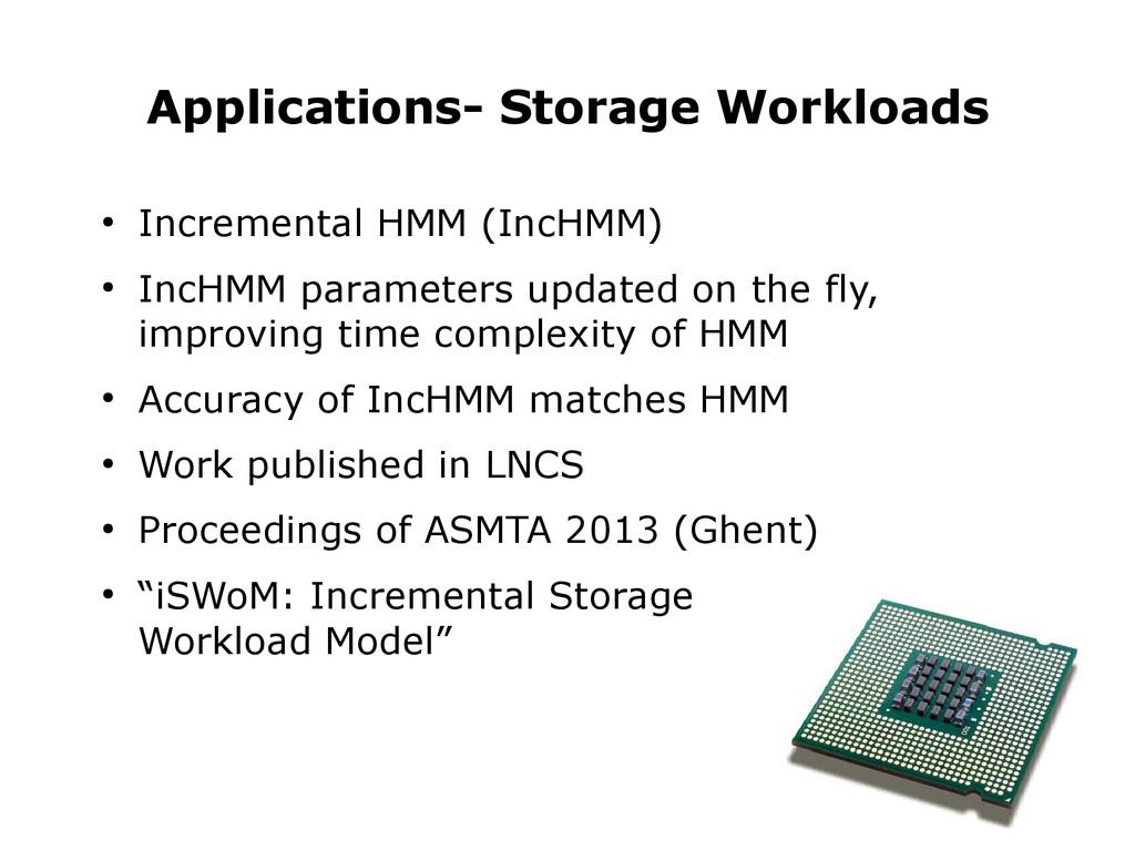 ● Incremental HMM (IncHMM) ● IncHMM parameters ...