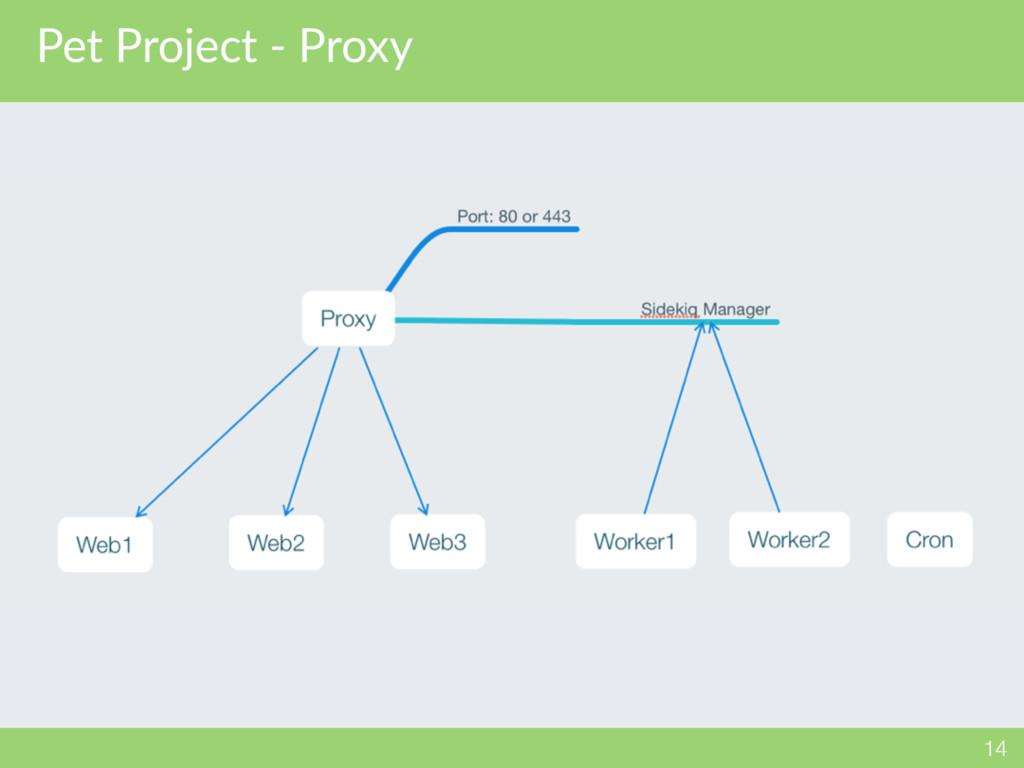 Pet Project - Proxy 14