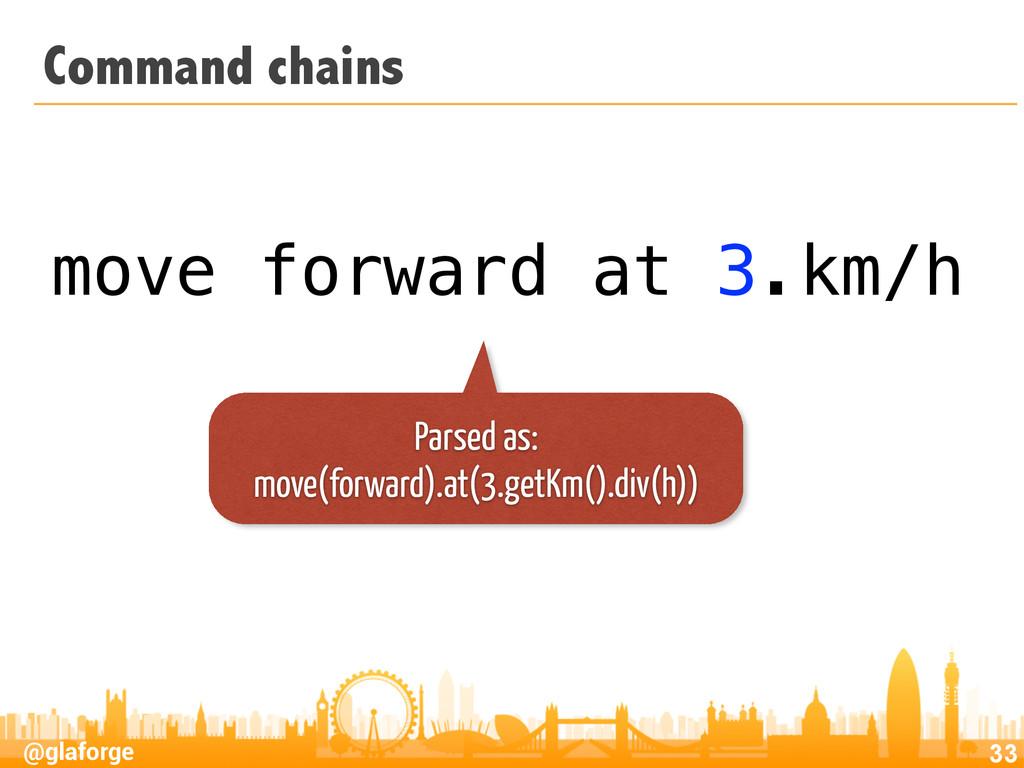 @glaforge Command chains 33 move forward at 3.k...