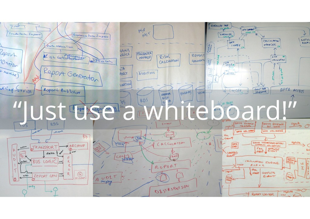 """Just use a whiteboard!"""