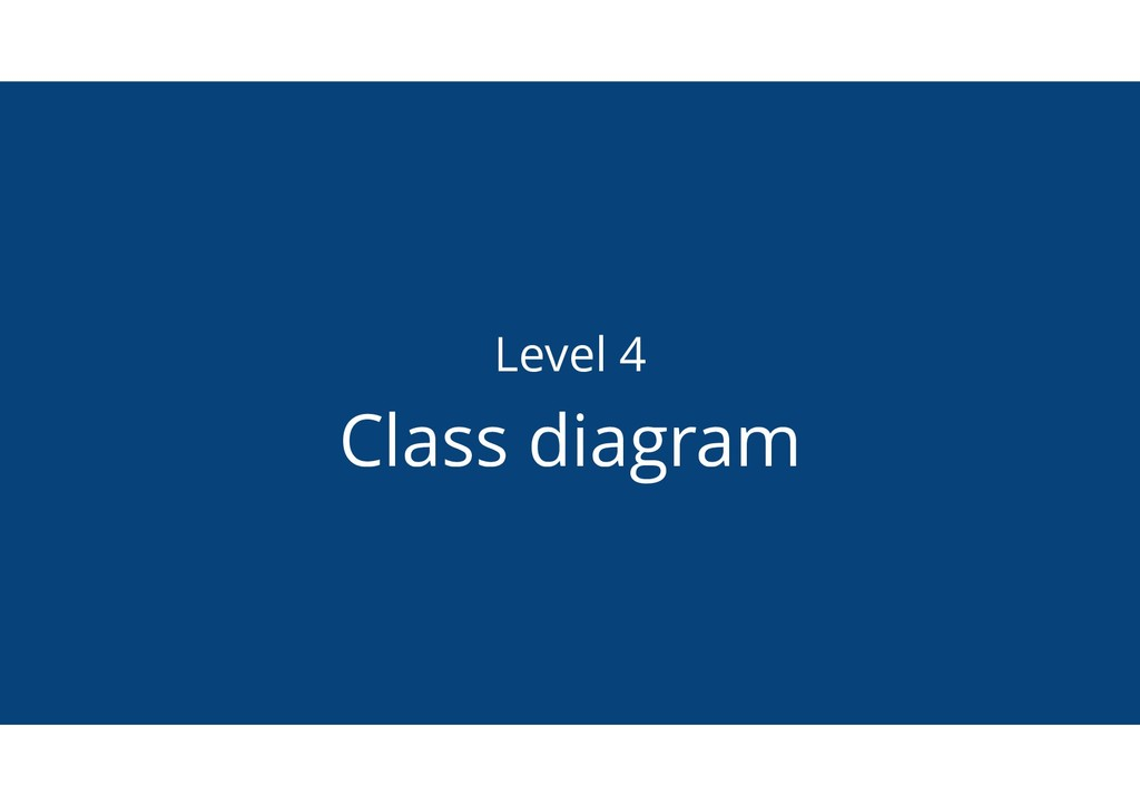 Level 4 Class diagram