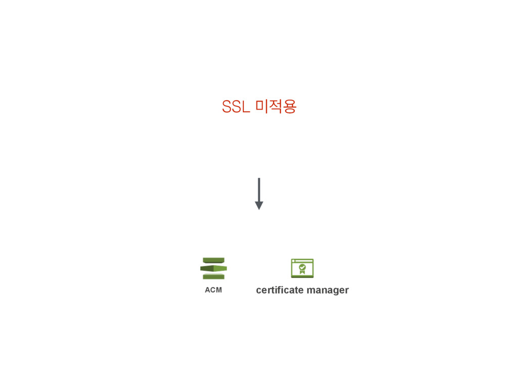 SSL ޷੸ਊ certificate manager ACM