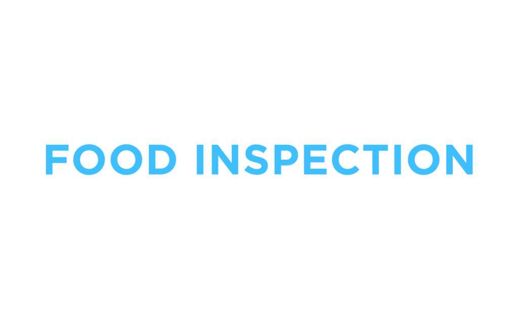 FOOD INSPECTION