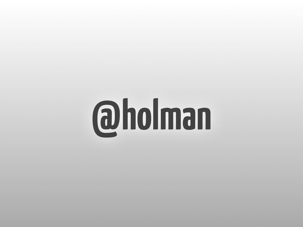 @holman