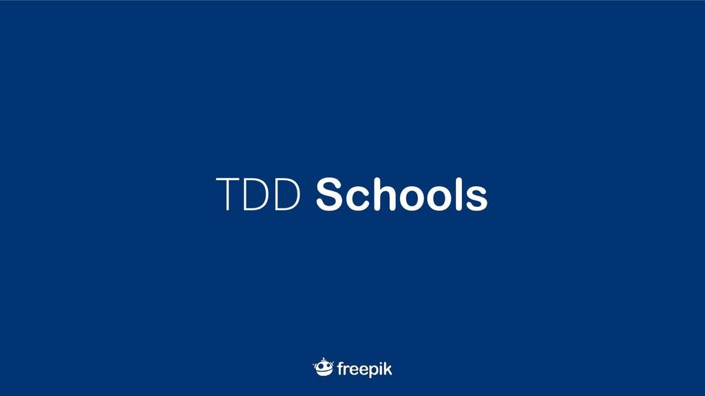 TDD Schools