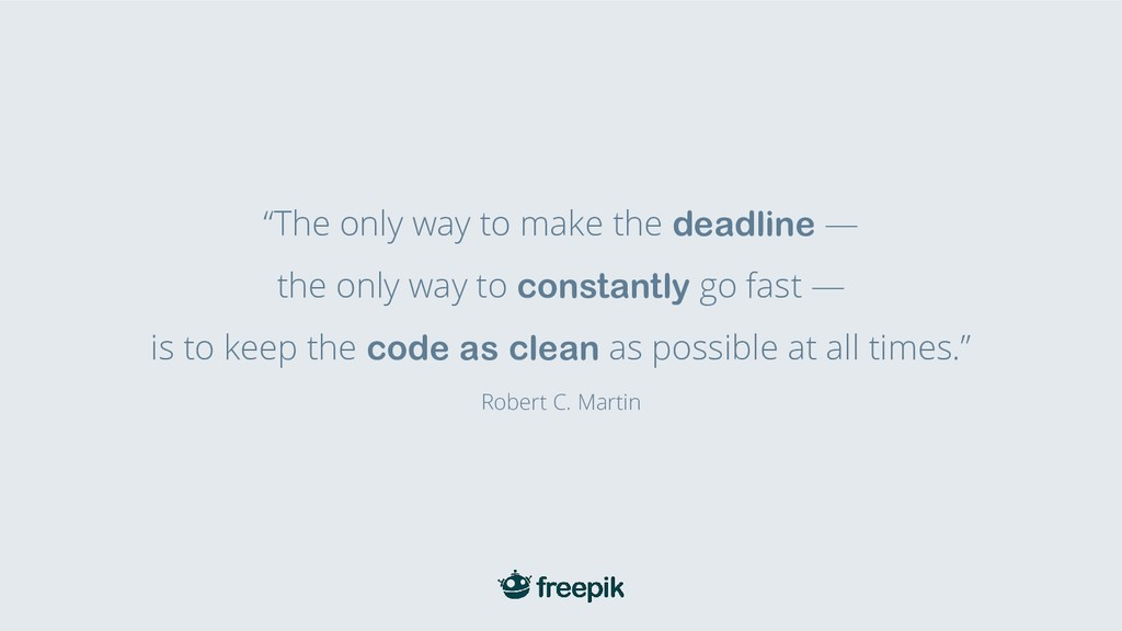 """""""The only way to make the deadline — the only w..."""