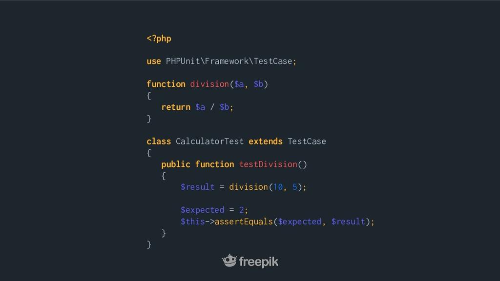 <?php use PHPUnit\Framework\TestCase; function ...