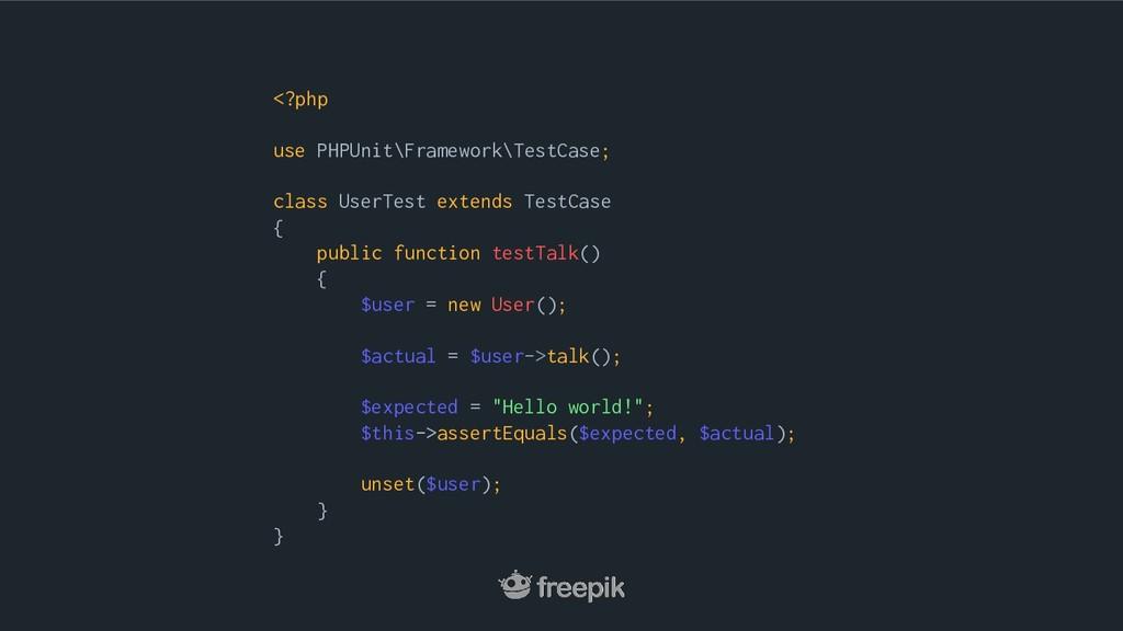 <?php use PHPUnit\Framework\TestCase; class Use...