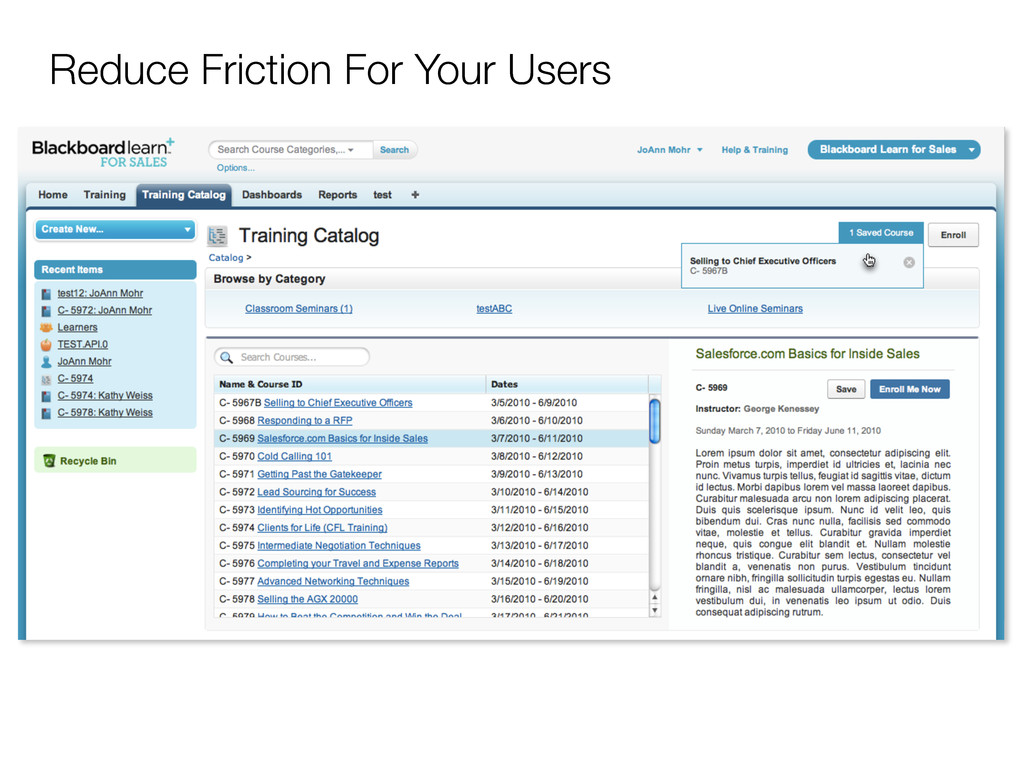 Reduce Friction For Your Users