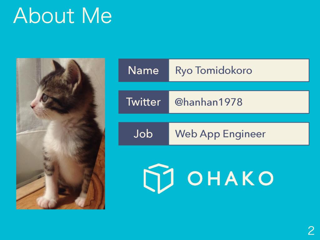 @hanhan1978 Twitter Ryo Tomidokoro Name Web A...