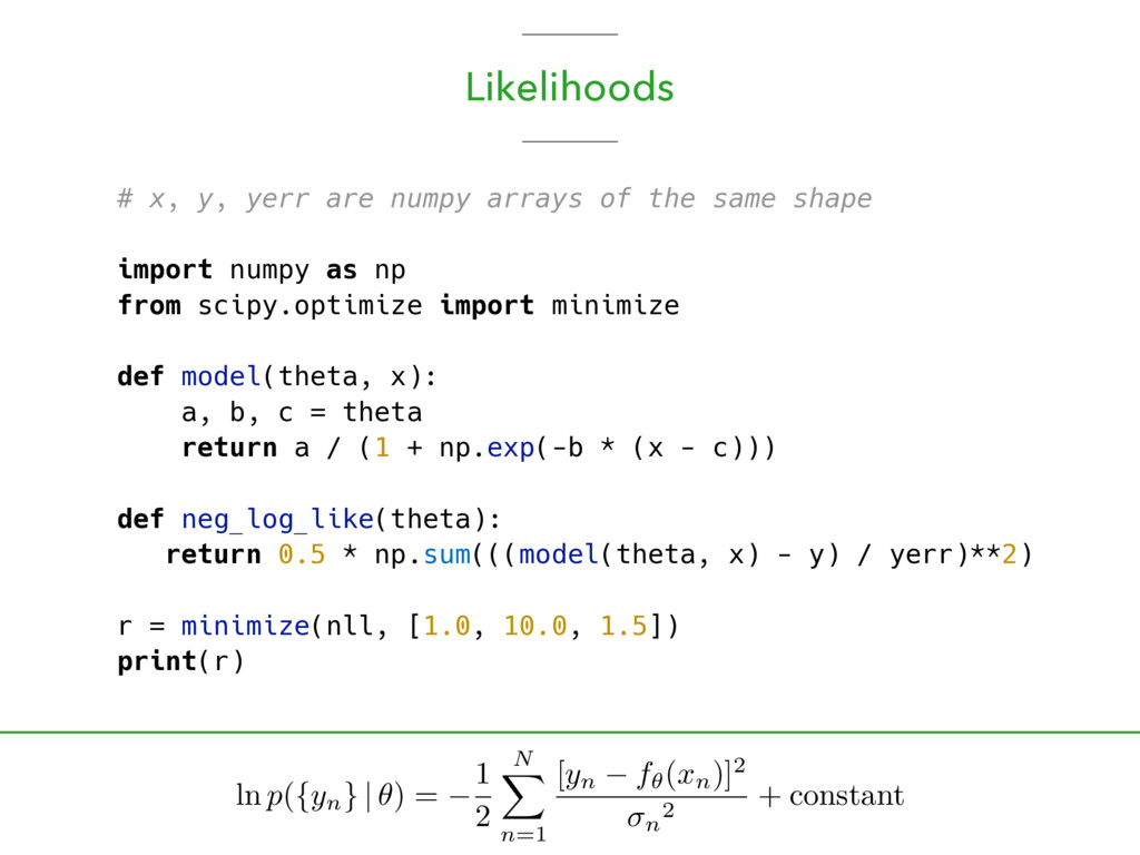 # x, y, yerr are numpy arrays of the same shape...