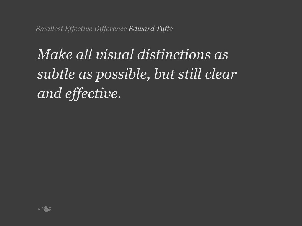 n Smallest Effective Difference Edward Tufte M...