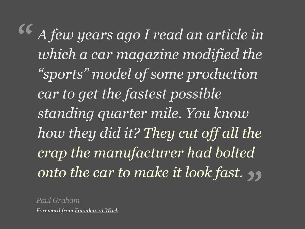 Paul Graham A few years ago I read an article i...