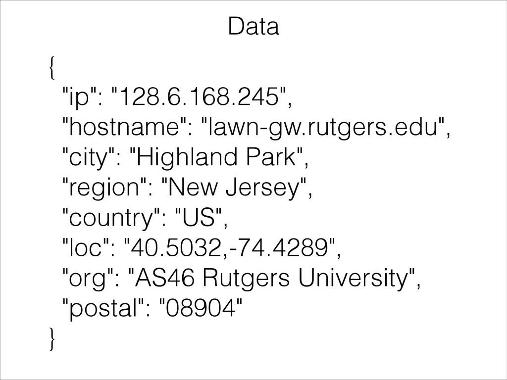 """{ """"ip"""": """"128.6.168.245"""", """"hostname"""": """"lawn-gw.r..."""