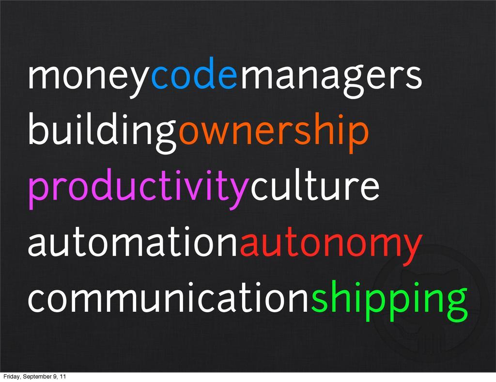 moneycodemanagers buildingownership productivit...