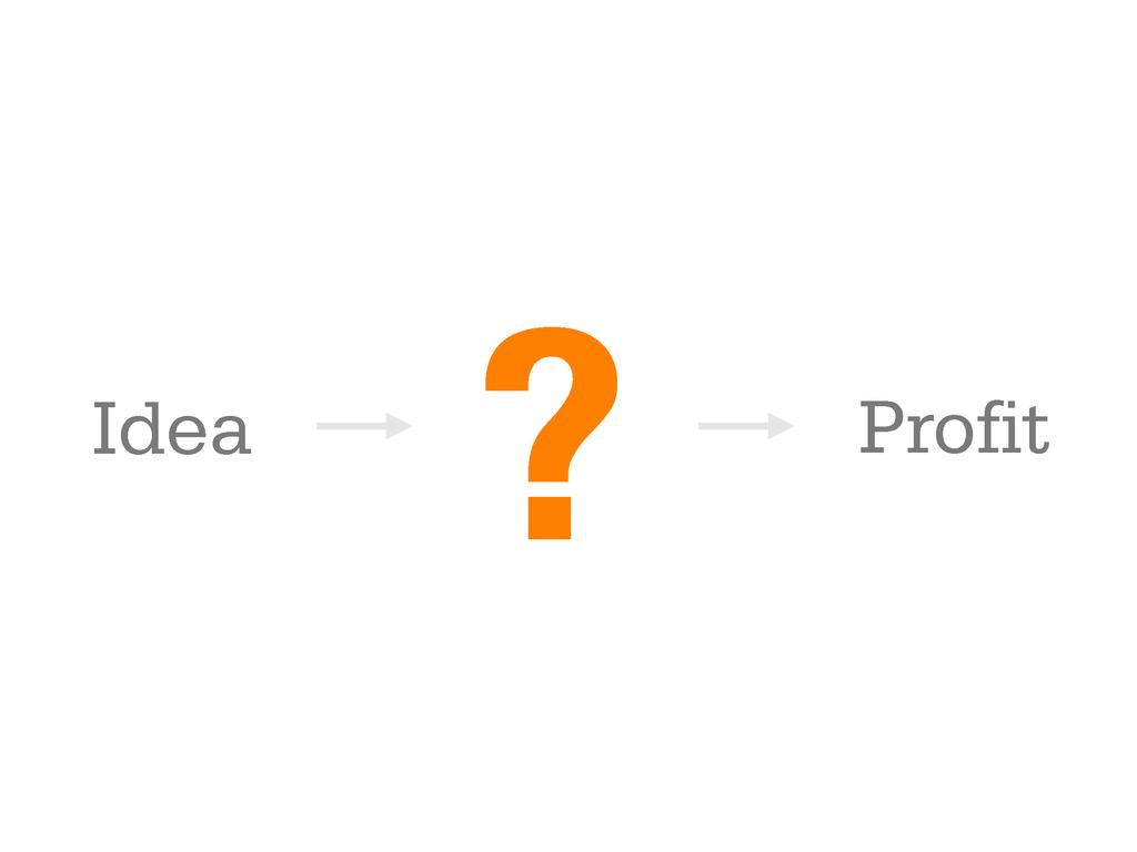 ? Idea Profit