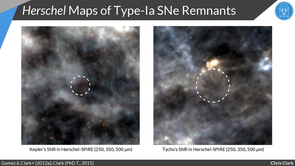 Chris Clark Herschel Maps of Type-Ia SNe Remnan...