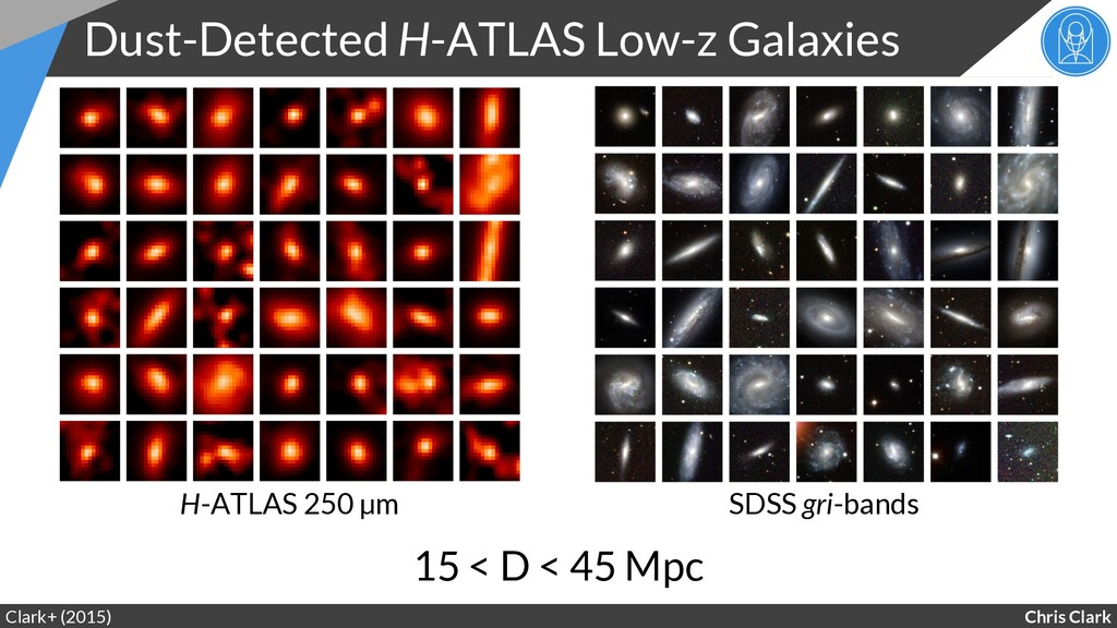 Chris Clark Dust-Detected H-ATLAS Low-z Galaxie...